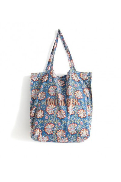 Tote Bag Louise Bleu nuit